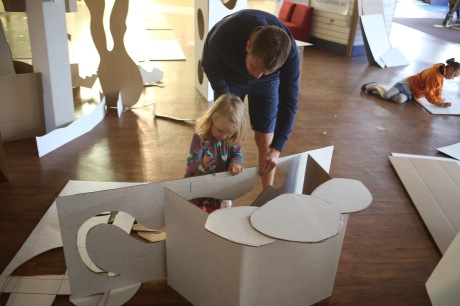 A young COCOA artist explores the boundaries between sculpture and architecture ... Photo by Steve Pool