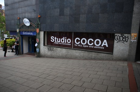 Studio COCOA at Castle House, Sheffield. Photo by Steve Pool