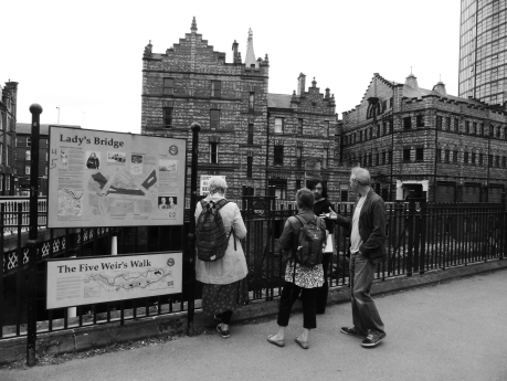 Exploring Castlegate with AB Jackson